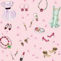 恋愛運アップ ピンクの幸せ Pavish Pattern