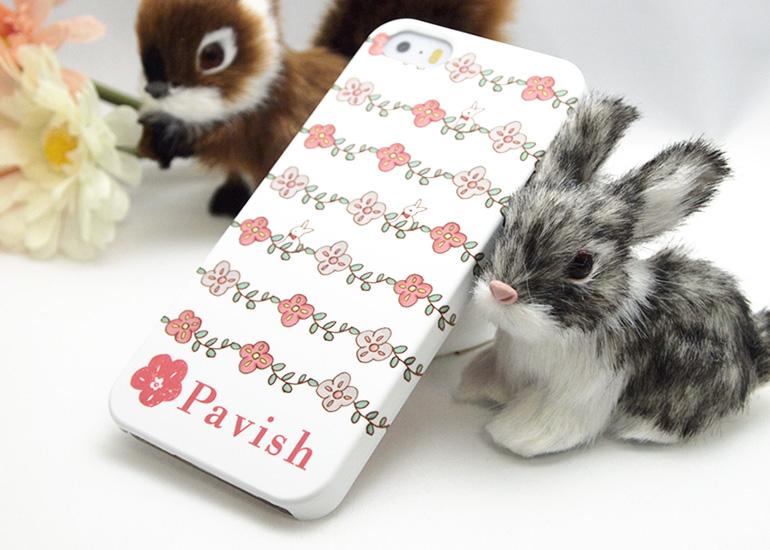 姫うさぎ 結婚運 金運アップ iPhoneケース Pavish パビッシュ