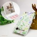 Pavish ボタニカル柄 ミラー付き iPhoneケース