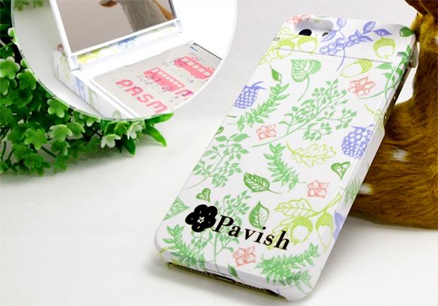 Pavish ボタニカル アイフォンケース