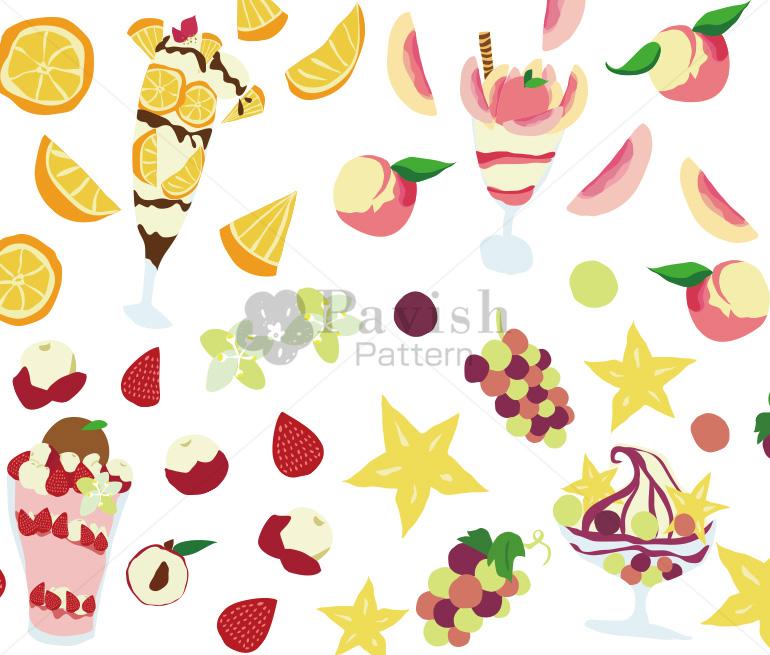 Pavish Pattern ジュエリーフルーツ