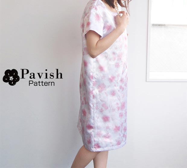 SAKURA_ZUKUSHI ワンピース【Pavish Pattern】
