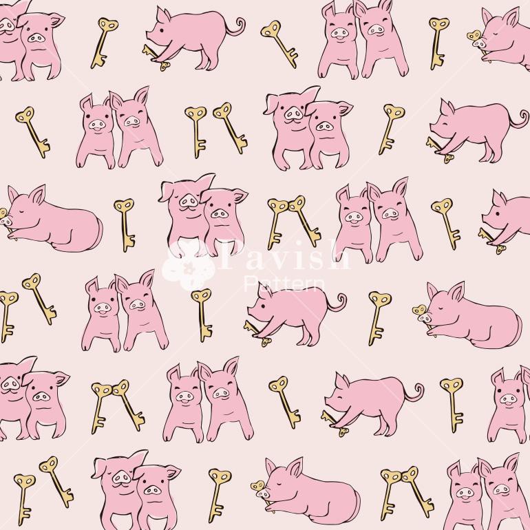 女性同士のトラブルを解決に導くピンクの豚【Pavish Pattern】