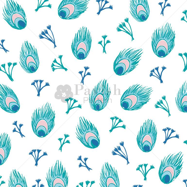 ピーコック柄パターン【Pavish Pattern】