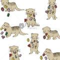 宝石を吐き出すマングース【Pavish Pattern】