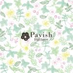 ボタニカル柄パターン【Pavish Pattern】