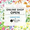 HAPiNS×Pavish Pattern オンラインショップオープン