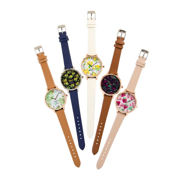 HAPiNS×Pavish Pattern 腕時計