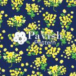 黄色い花のパターン【Pavish Pattern】
