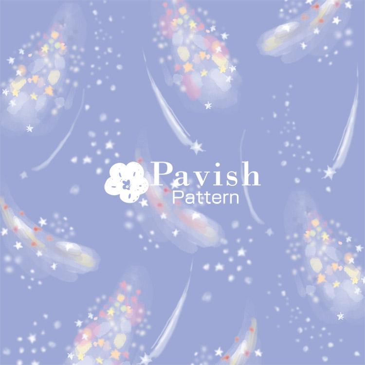 ミルキーウェイ ウィステリア【Pavish Pattern】
