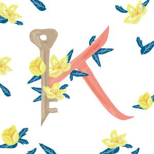 Pavishイニシャルシリーズ【K】
