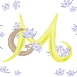 Pavishイニシャルシリーズ「M」