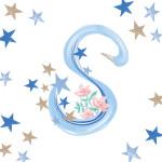 Pavishイニシャルシリーズ【S】