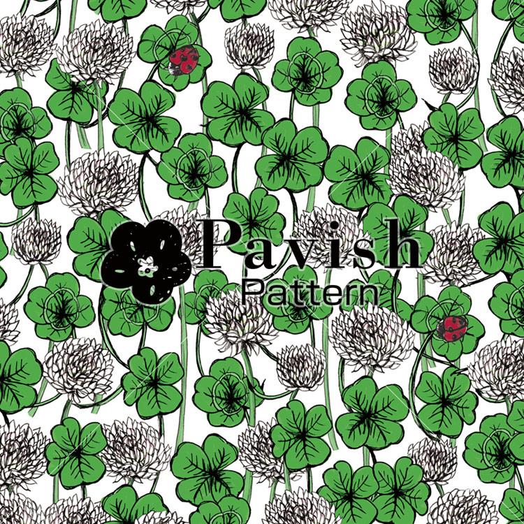 四葉のクローバー【pavish Pattern】
