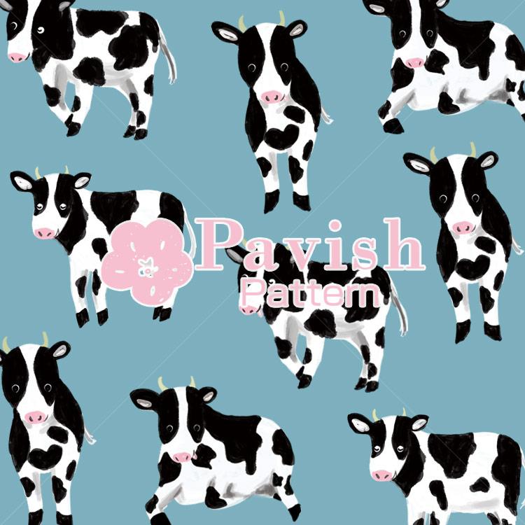 牛のパターン【Pavish Pattern】