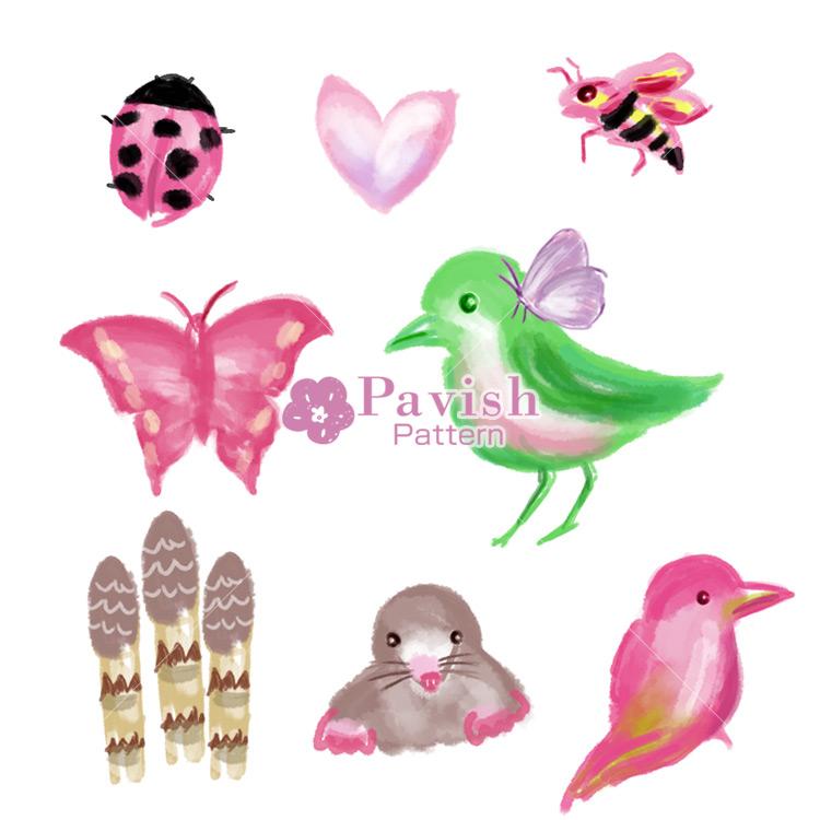 春イメージのアイコン【Pavish Pattern】