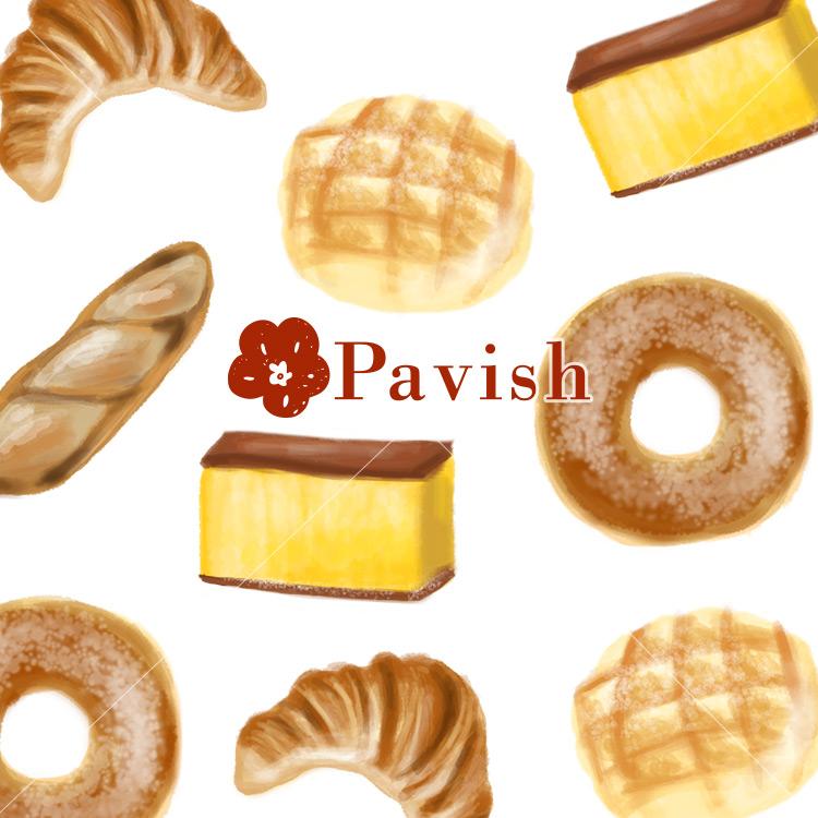 パンとカステラのパターン【Pavish Pattern】