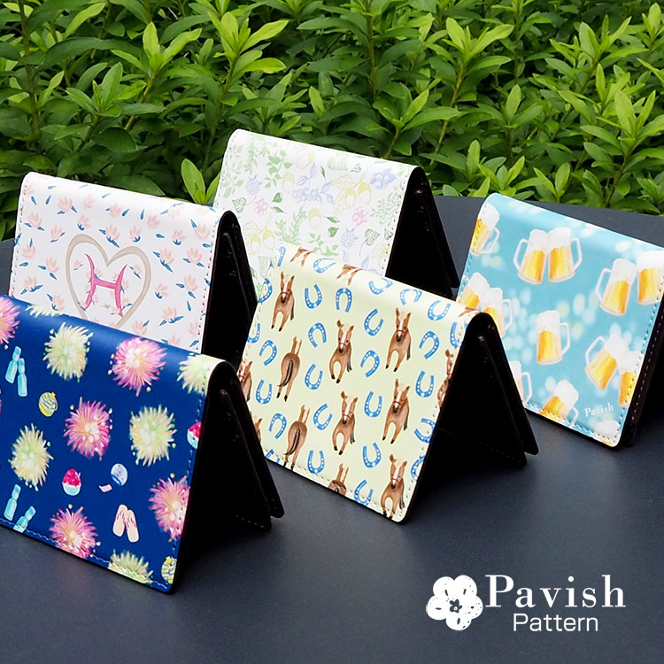 カードケース【Pavish Pattern】