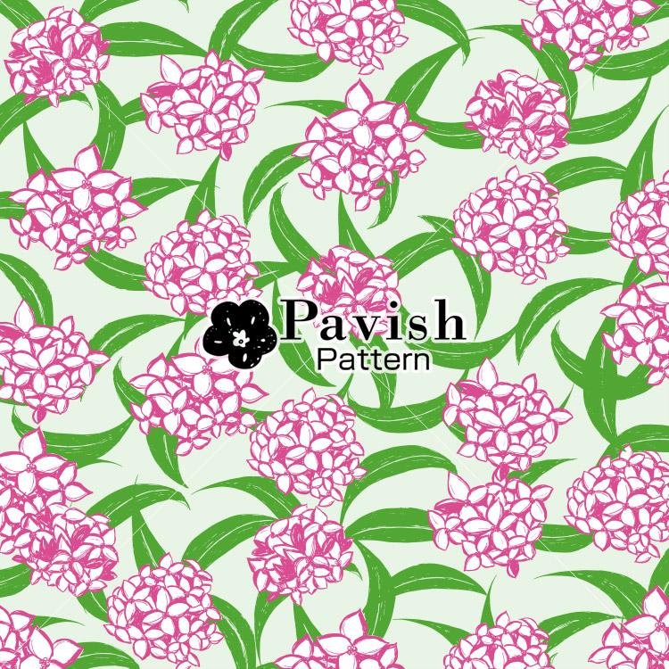 沈丁花のパターン【Pavish Pattern】