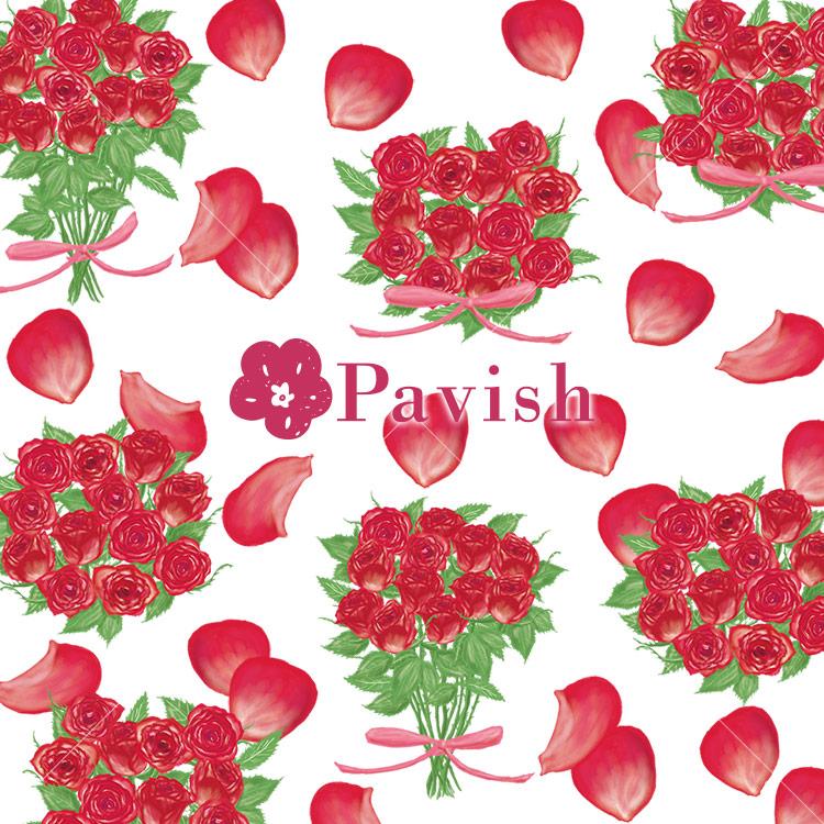 ダズンローズ【Pavish Pattern】