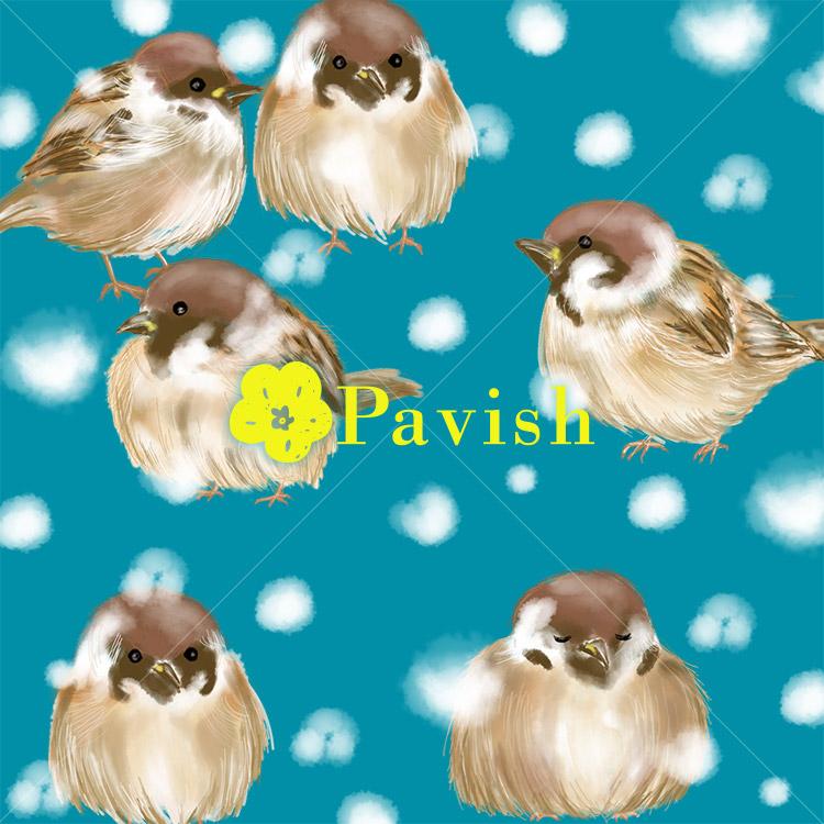 ふくら雀のパターン【Pavish Pattern】