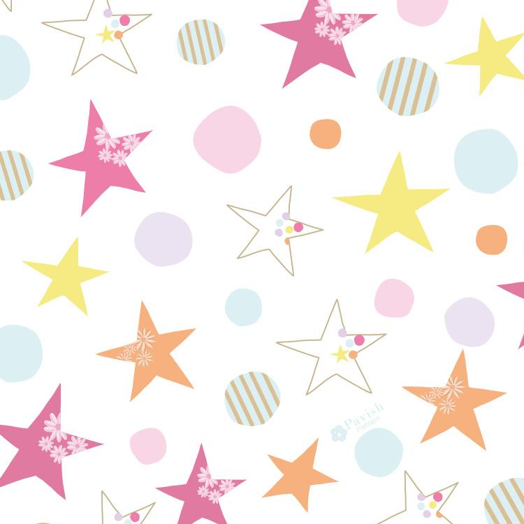 Relaxing Stars【Pavish Pattern】